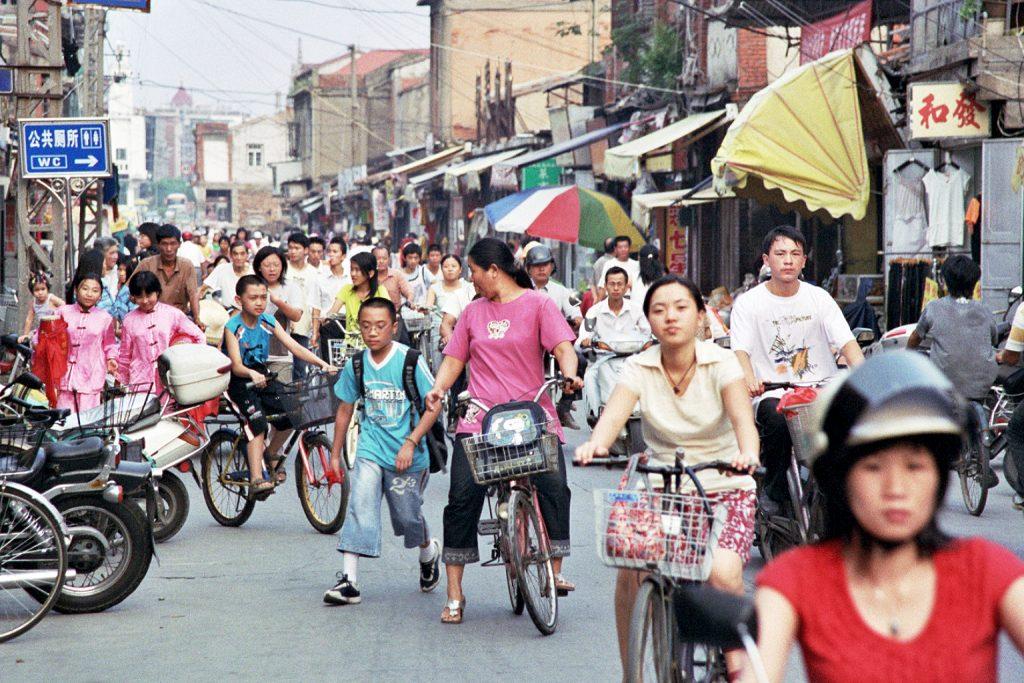 Bustling Streets Quanzhou