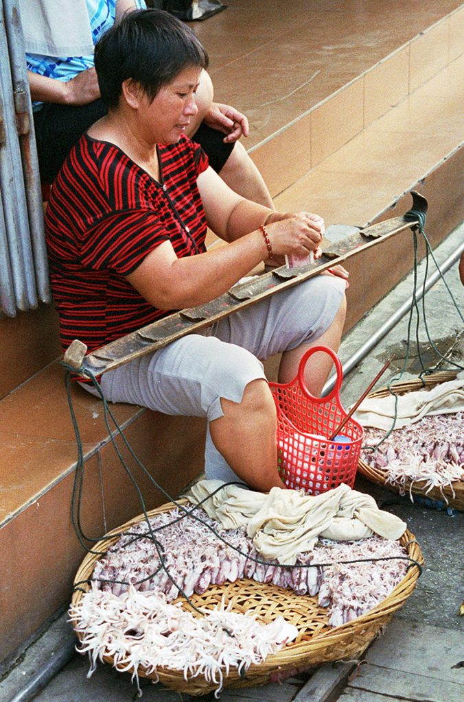 Squid Seller Quanzhou
