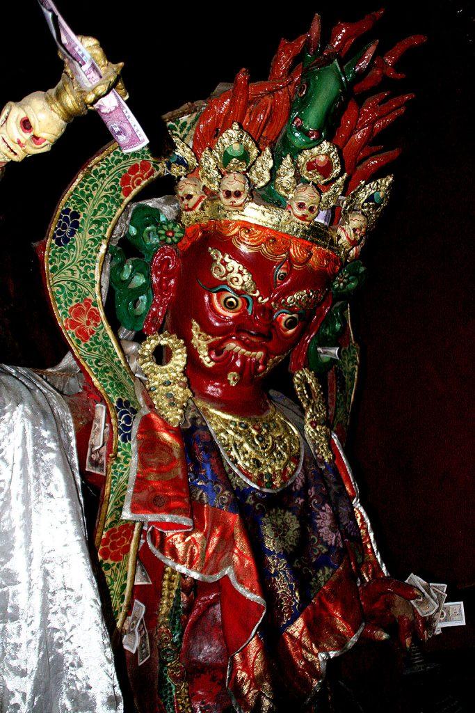 statue Shalu Monastery 夏鲁寺: Tibet