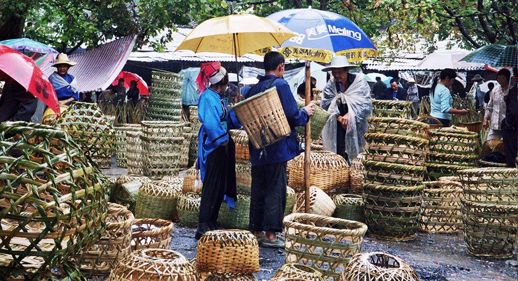 Baslets Anshun Sunday Market: 安顺星期七农民市场