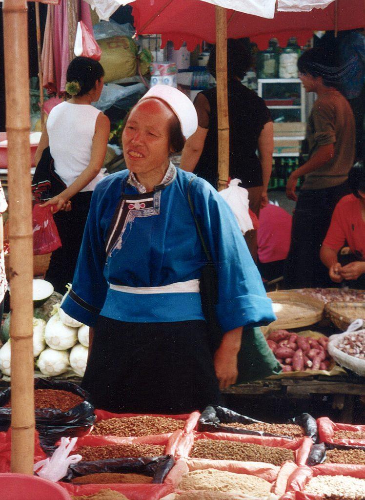 spice seller Anshun Sunday Market: 安顺星期七农民市场