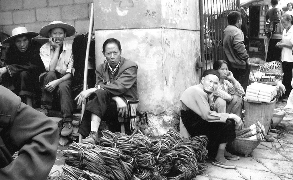 peasants Anshun Sunday Market: 安顺星期七农民市场