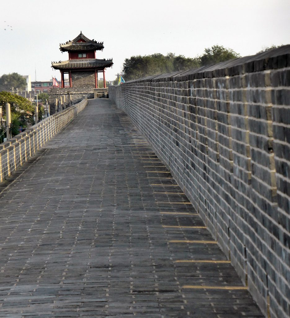 Xincheng City walls