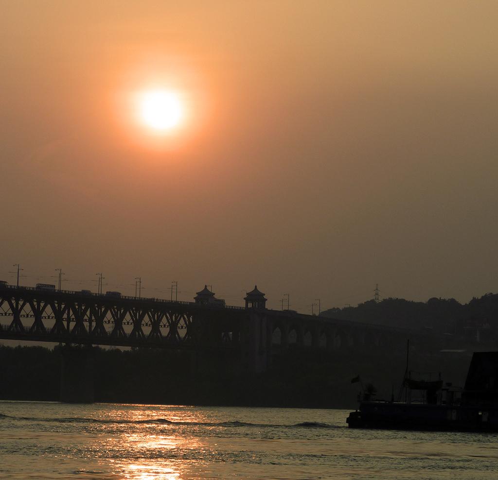 Wuhan Famous Yangtse Bridge