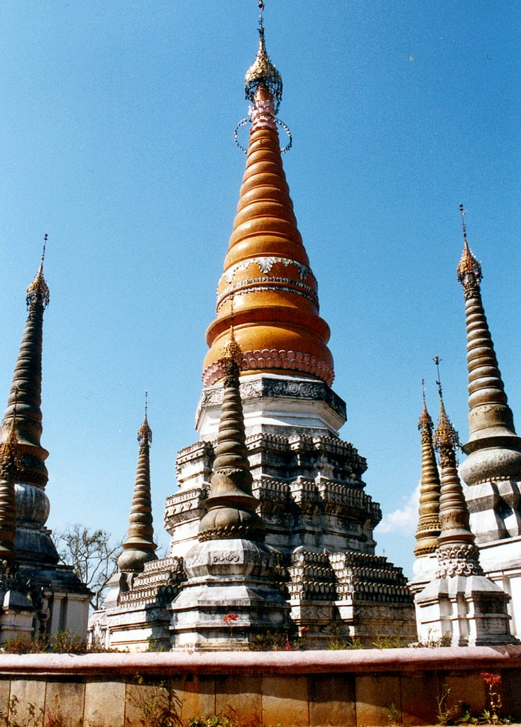 Burmese Style Temple near Ruili