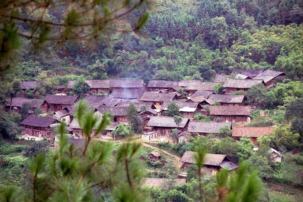 Dong Village 侗族村 between Zhenyuan 镇远 and Taijiang台江