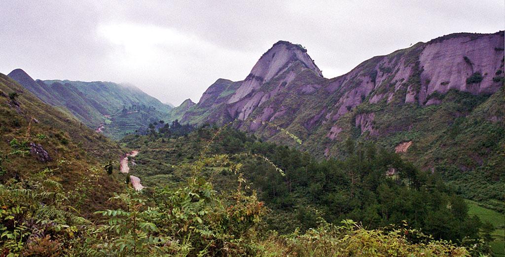 Zhenyuan to Shidong scenery 镇远到施洞的风景