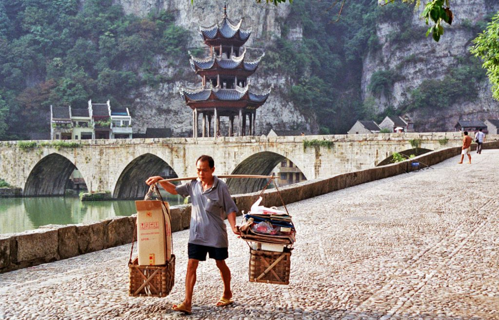 local Zhenyuan Guizhou镇远贵州 One of Guizhou's Most Attractive Towns