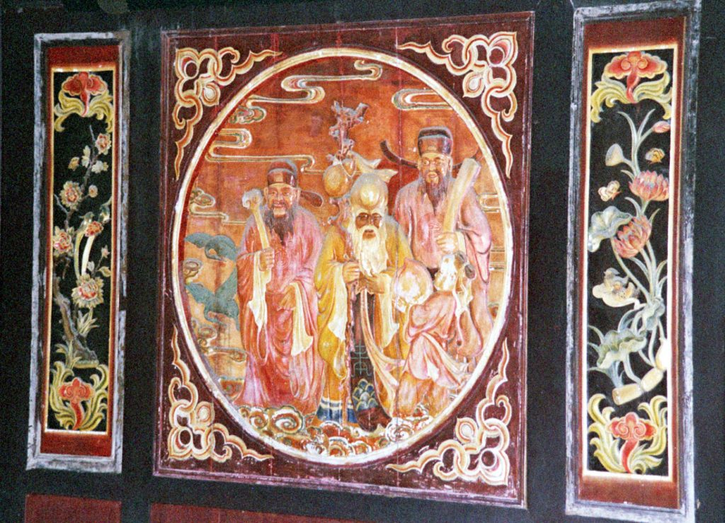Painting in the Qinglong Dong Temple青龙洞,镇远