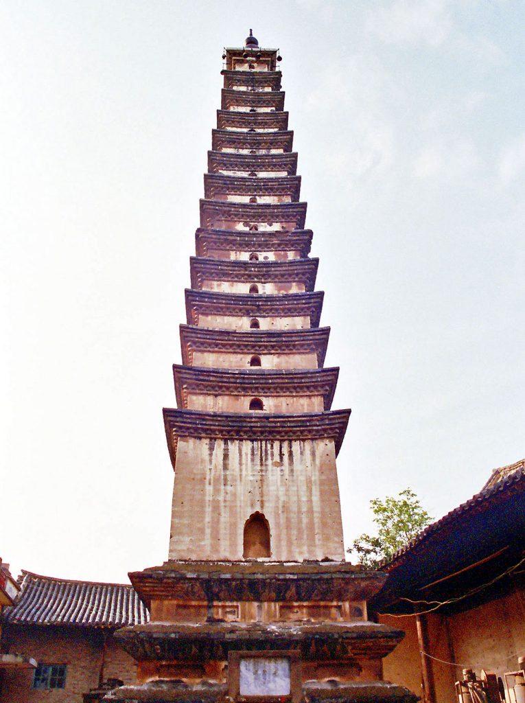 pagoda jianshui