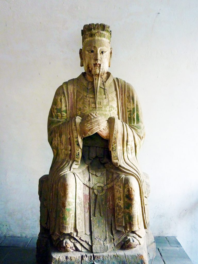 Song Dynasty statues carved from Willow Trees