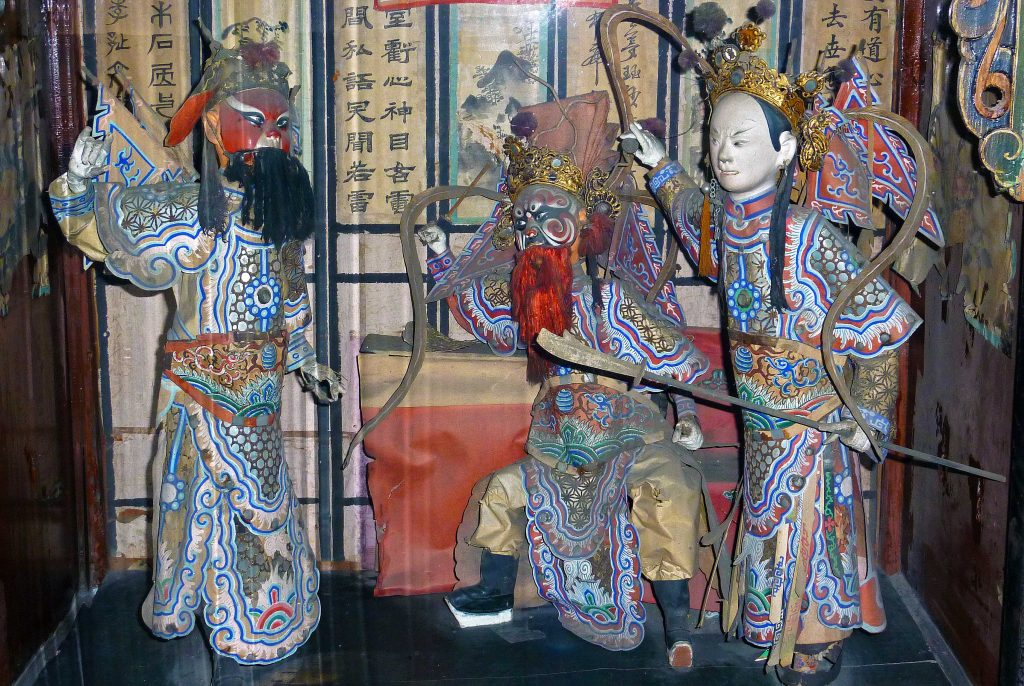 Qingxu Guan, Pingyao 情绪观平遥, and its amazing collection of Shage Xiren (纱阁戏人 / Miniature Opera Dolls)