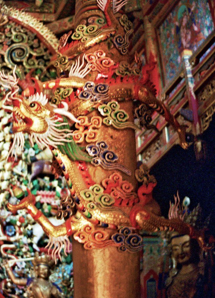 dragon tongren monastery