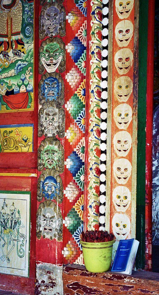 longwu temple amazing door tongren