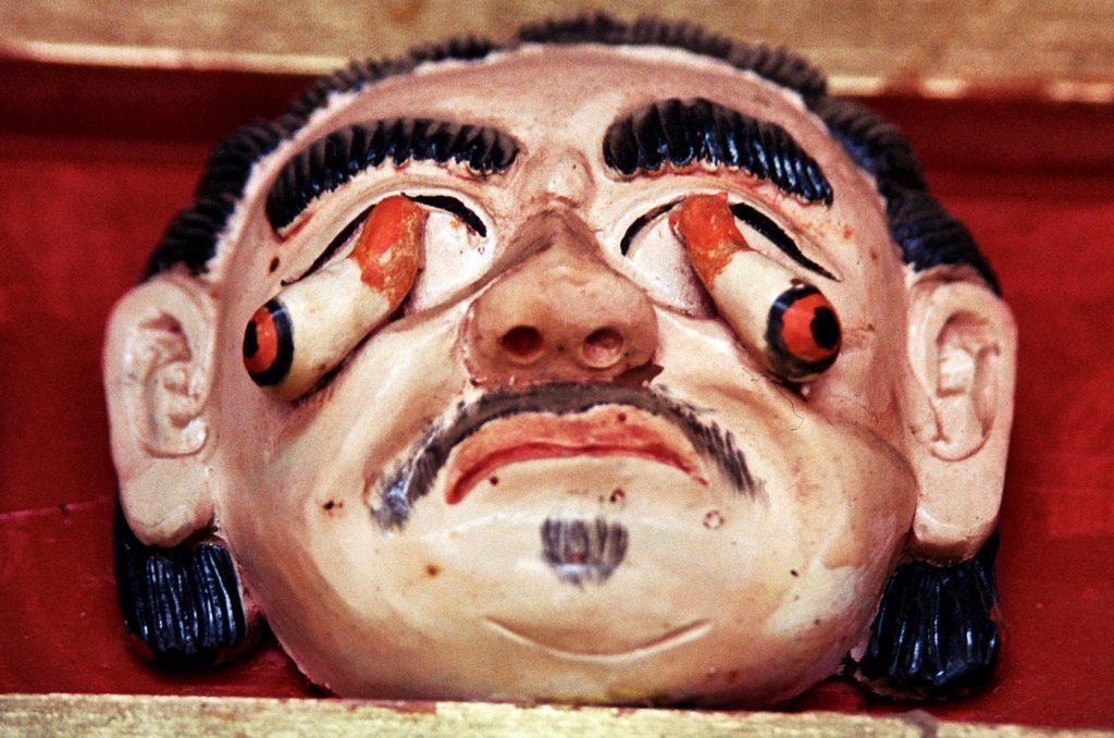 hell scene tongren longwu temple