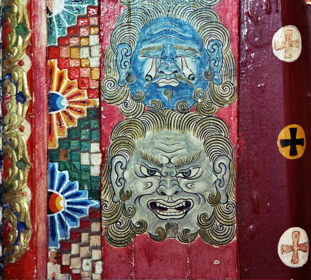amazing door tongren qinghai province china