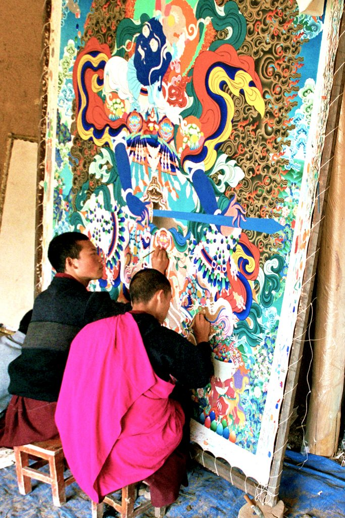 The Thangka Painters of Tongren 同仁 Qinghai Province 青海省