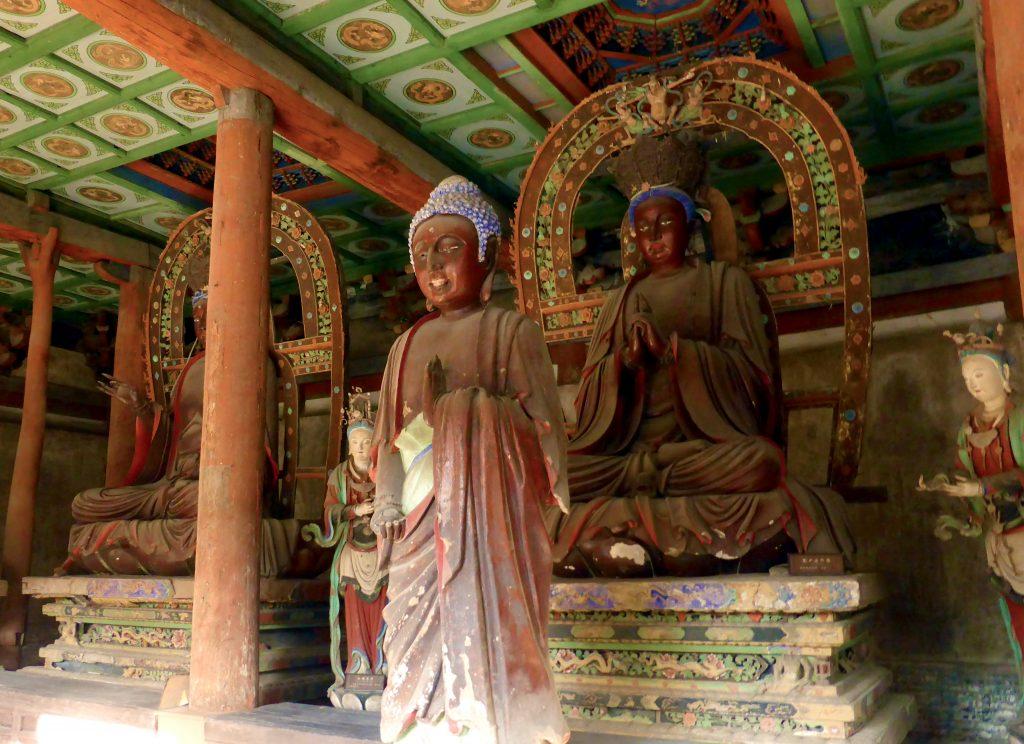 Bodhisattva Hall (Pusa Ting or 菩萨厅) Shuānglín Sì