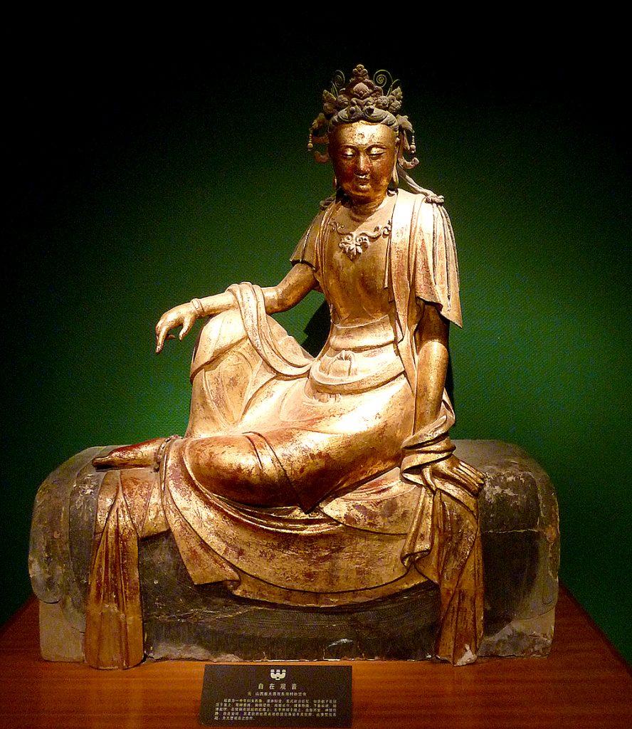 gold statue Shanxi Museum: 山西博物院; Shanxi Bówùyuàn: Taiyuan