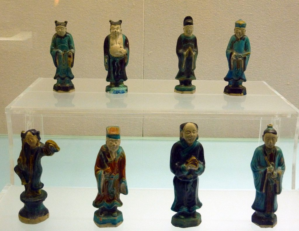 tang dynasty figurines Shanxi Museum: 山西博物院; Shanxi Bówùyuàn: Taiyuan