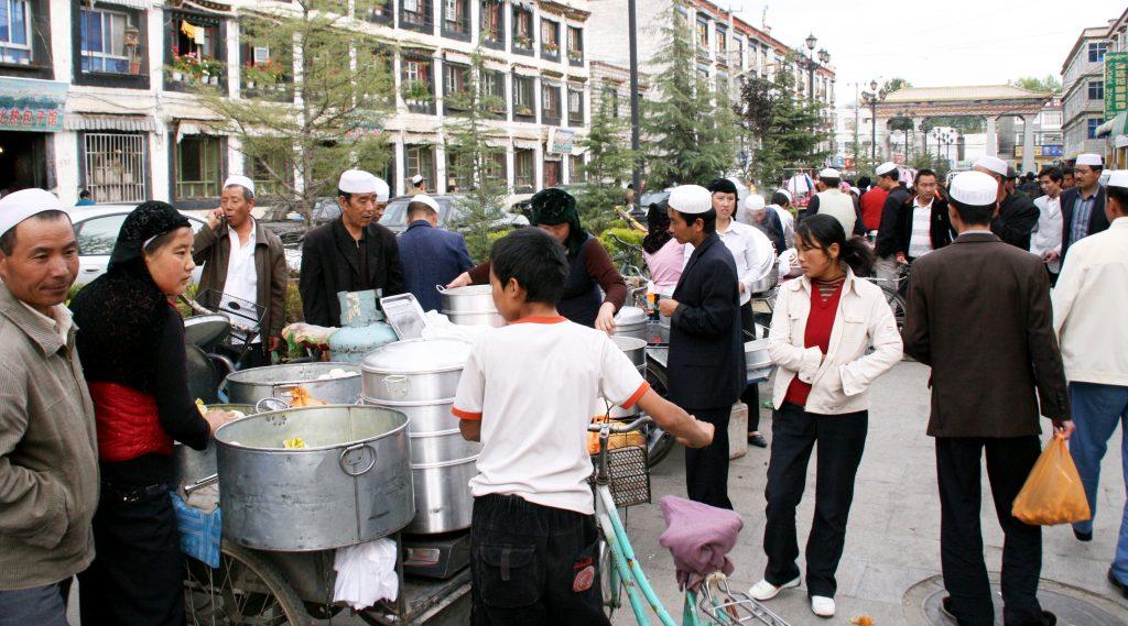 Hui Minority Market in Lhasa