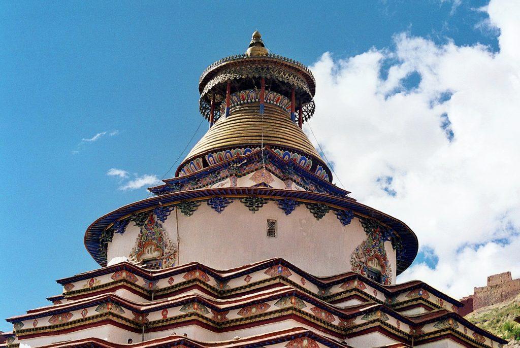 The Kumbum Gyantse Tibet