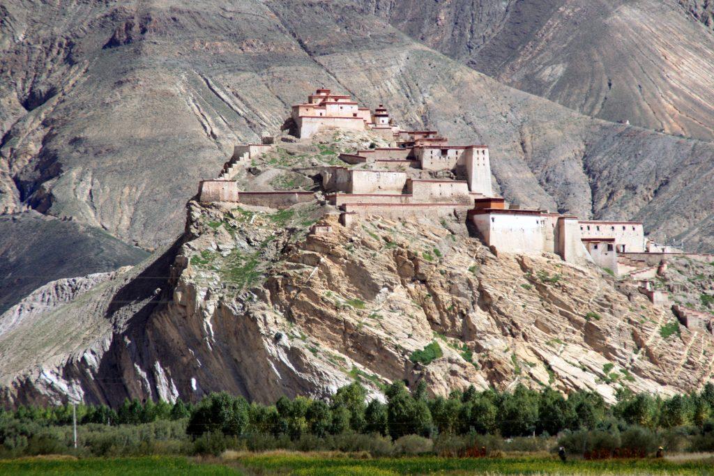 Gyantse fort tibet