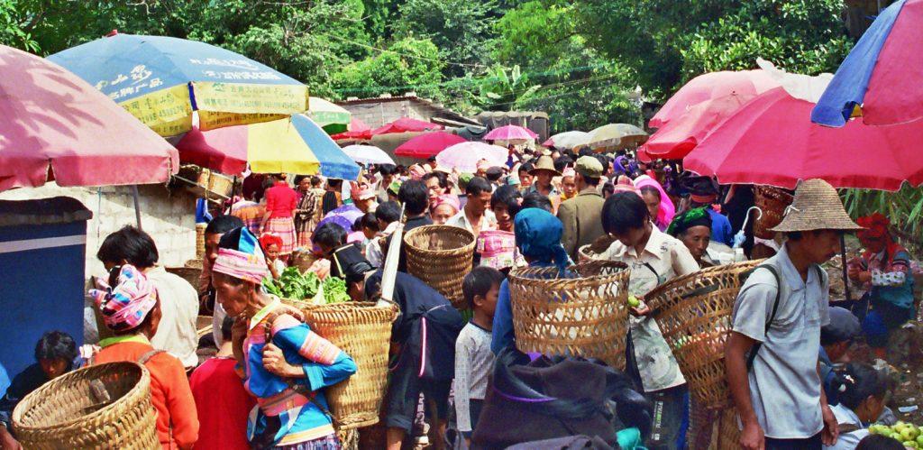 Laomeng Market 老勐 市场 Jinping Yunnan