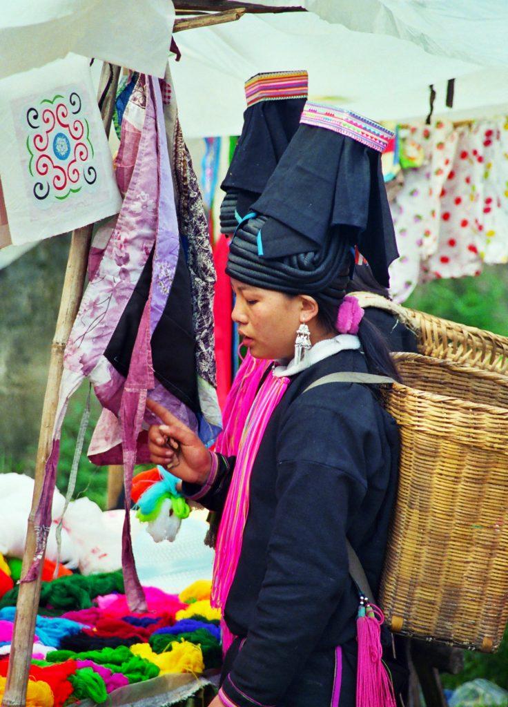 Laomeng Sunday Market 老勐 市场