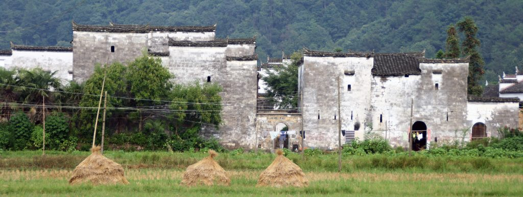 Yancun Village Wuyuan Beautiful old Huizhou style houses