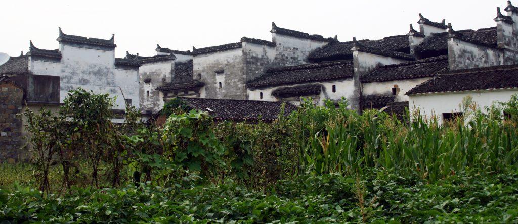 Yancun Village Wuyuan Beautiful old Huizhou style houses
