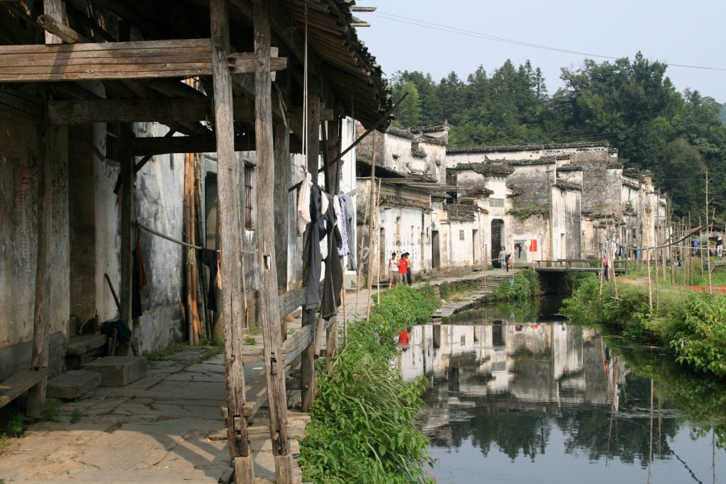 Ancient villages of Wuyuan, one of China's Most Stunning Villages: Hongcun 洪村 (Wuyuan 婺源, Jiangxi 江西省 Province)