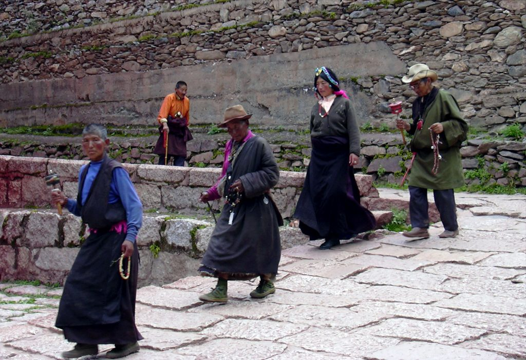 Pilgrims Bakong Tibetan Printing Monastery Dege