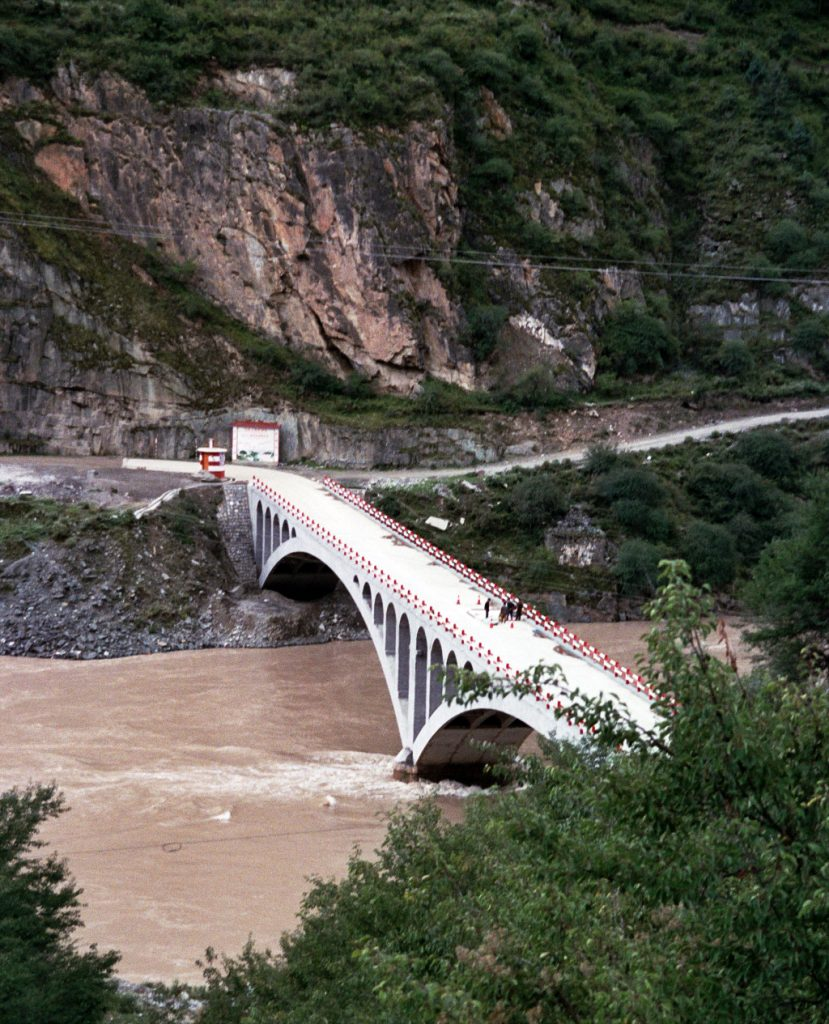 Sichuan Tibet border crossing