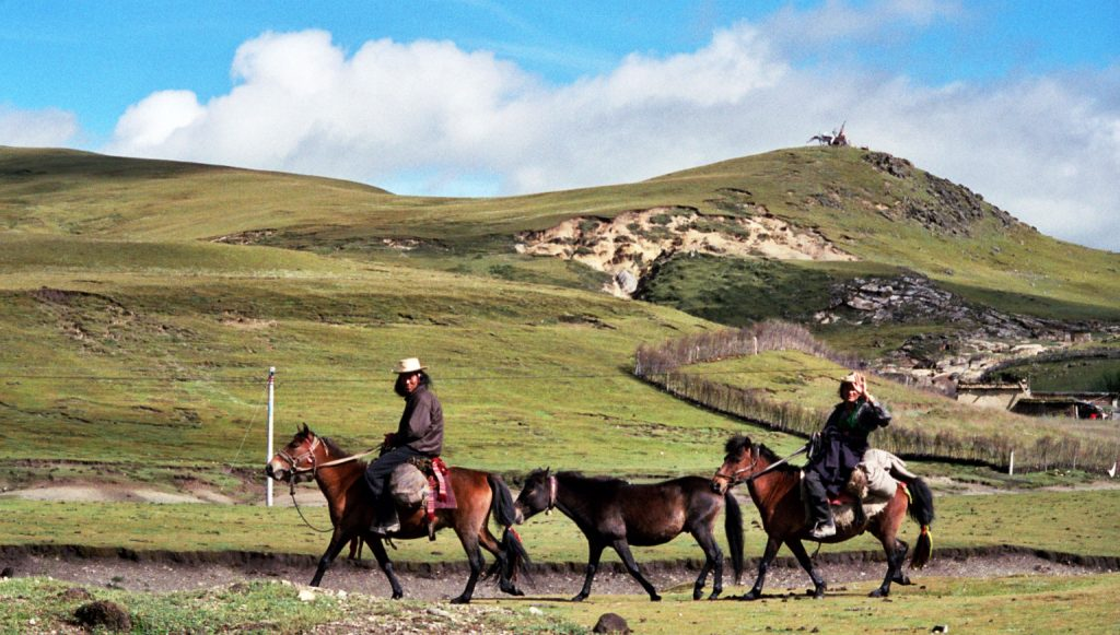 Khampas near Litang