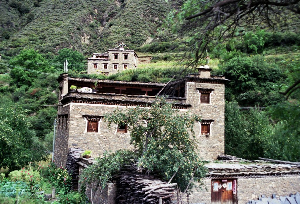 Litang China's Wild West Tibetan houses