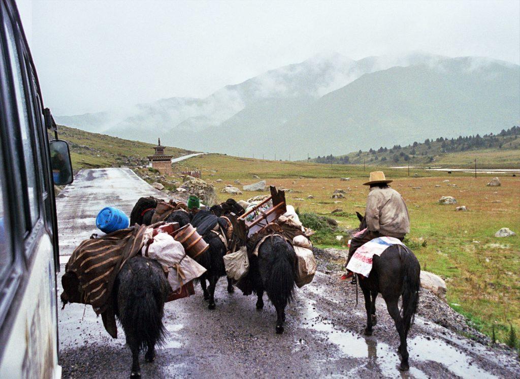 Nomads near Manigango
