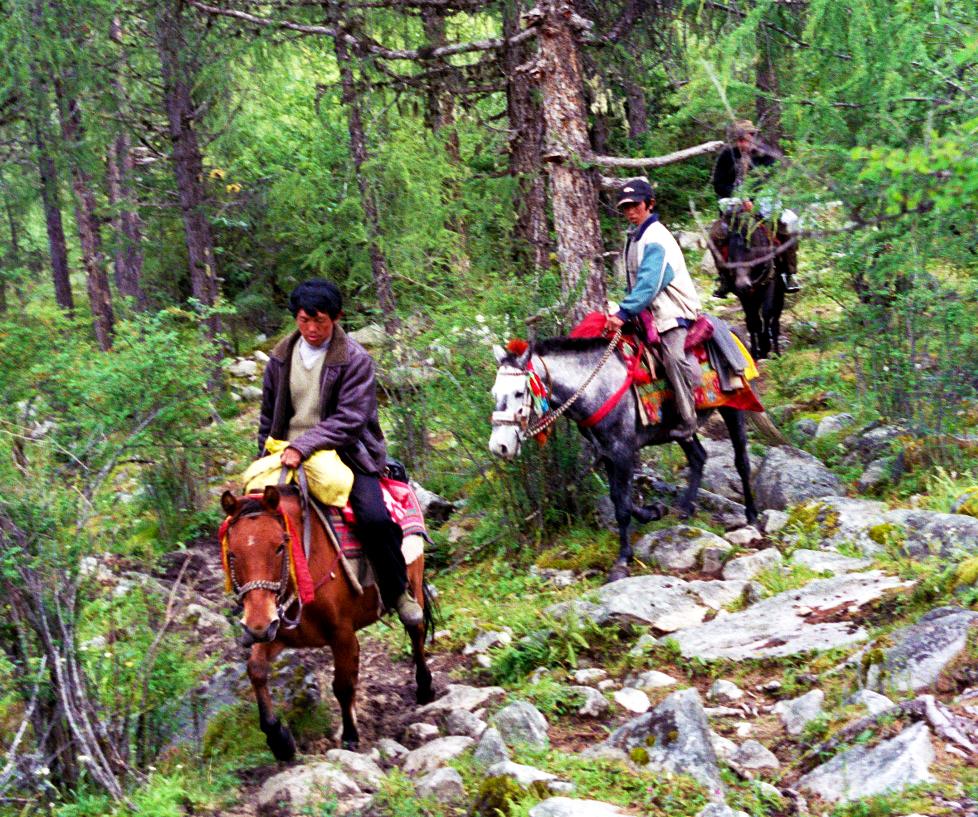 Nomads Mugecuo Lake