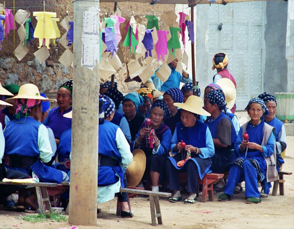 Singing ladies Wase Market