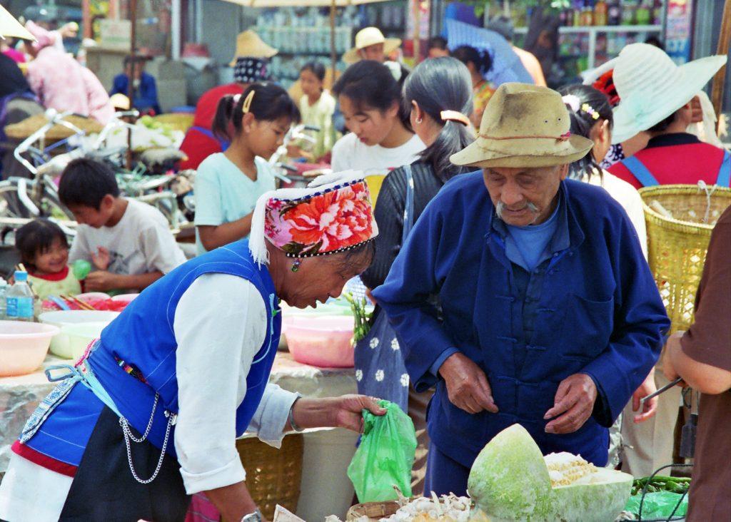 A trip to Wase Market Melon seller