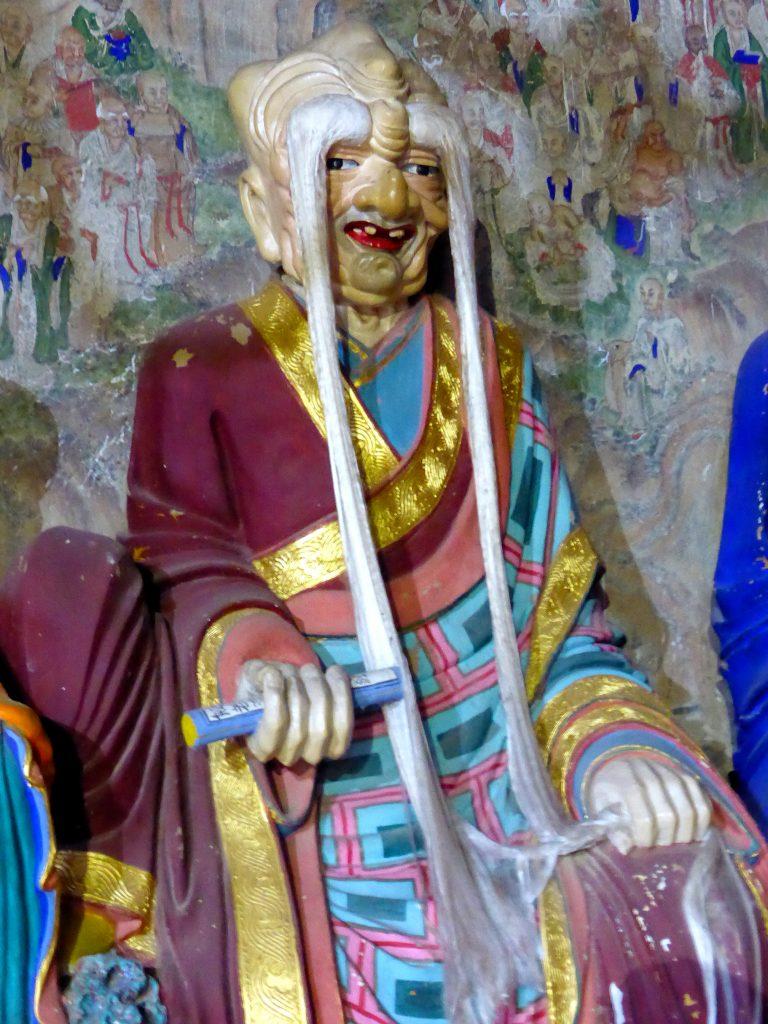 Arhat Jin ge Temple Wutaishan Shanxi Province