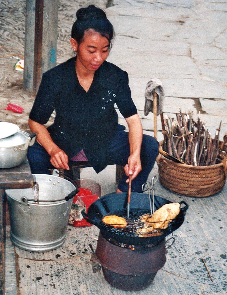 Breakfast in Zhaoxing