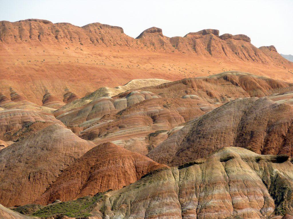Zhangye Danxia Landforms Geology Park (张掖丹霞地貌)