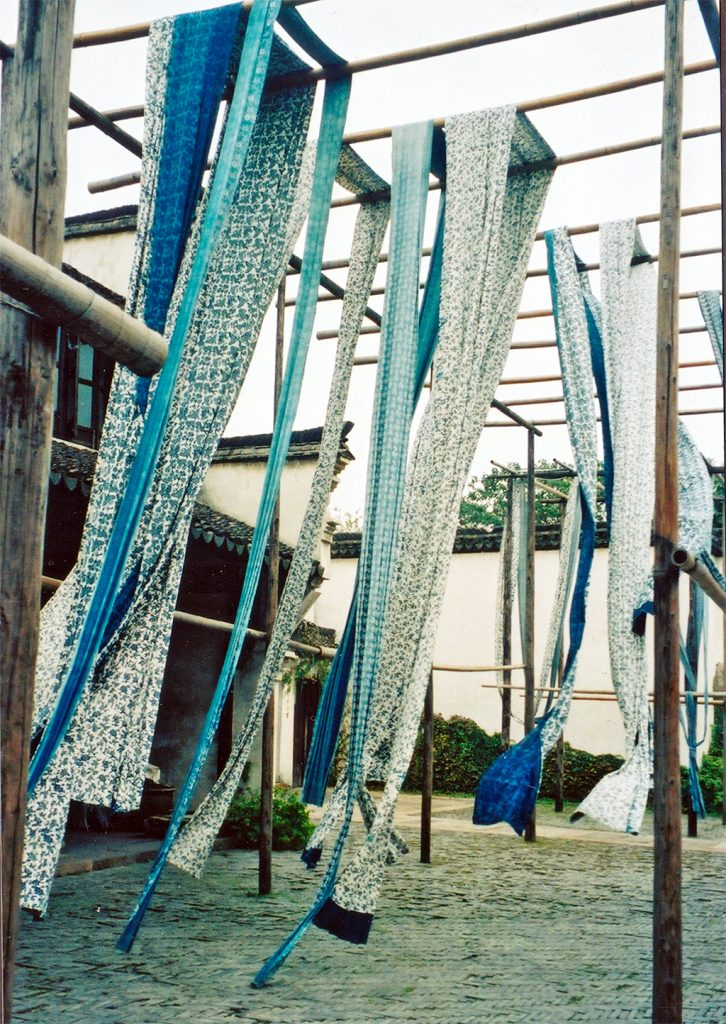 Drying Batiks Wuzhen