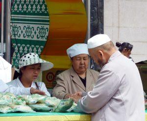 Halal Market Xining Qinghai Province