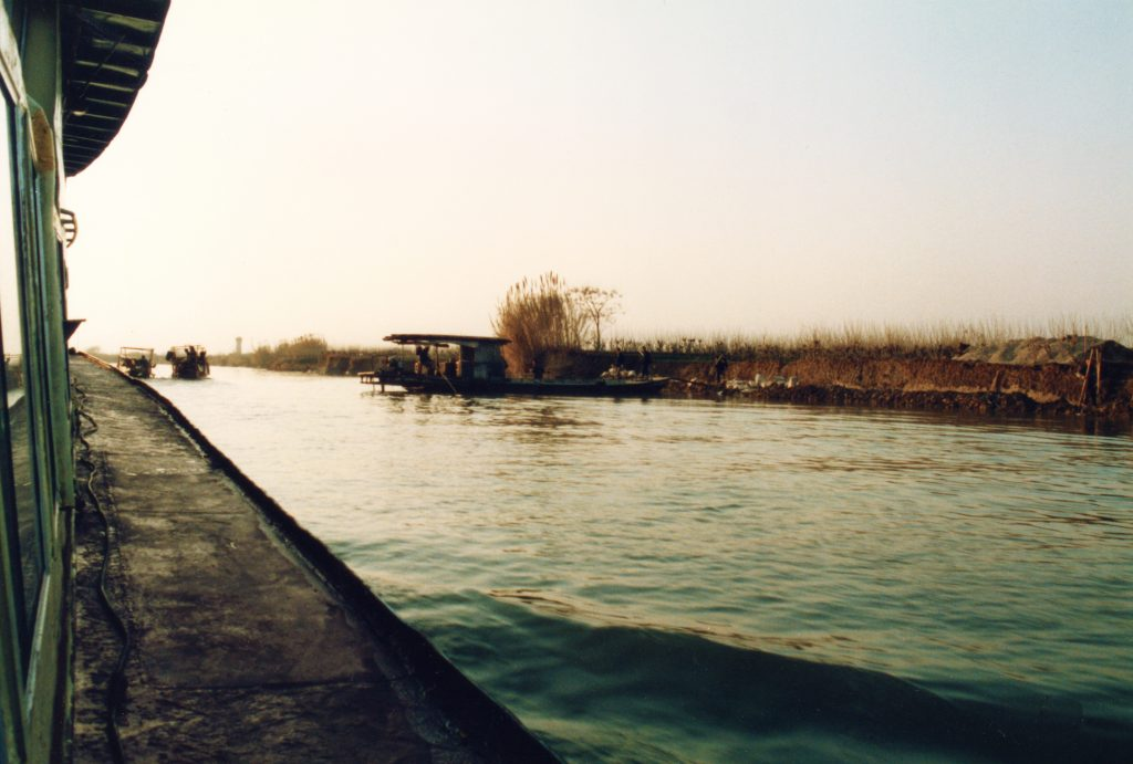 Suzhou to Hangzhou by local ferry on the Granal Canal 大運河