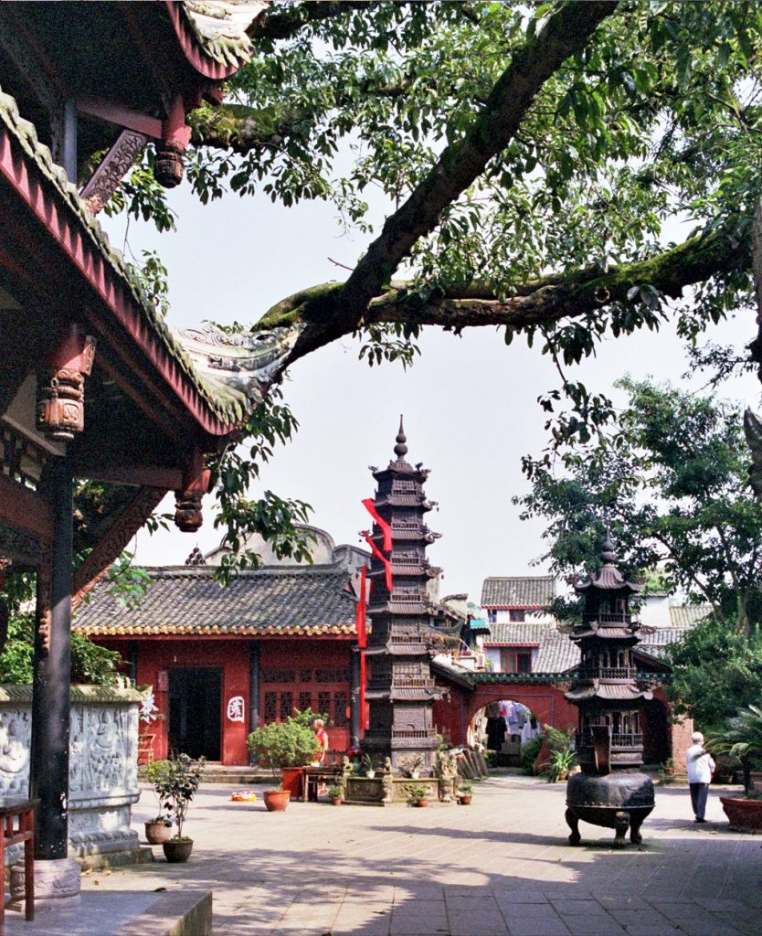 The Temple Where they Filmed Crouching Tiger, Hidden Dragon