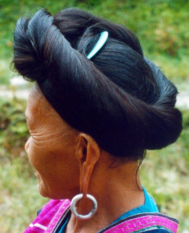 Yao Lady at the Longjititian Rice Terraces