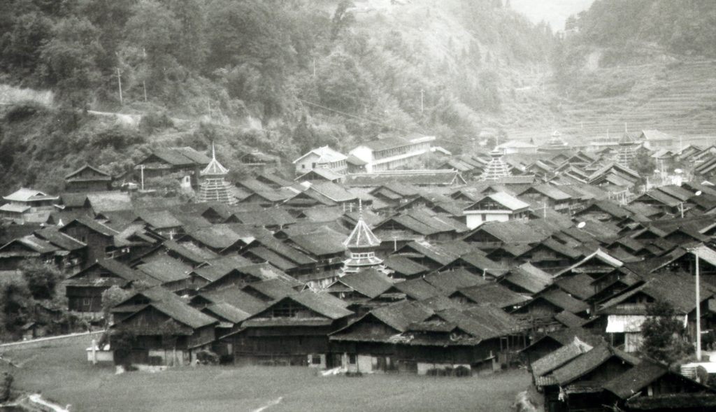 Zhaoxing: The Ultimate Dong Village in black and white