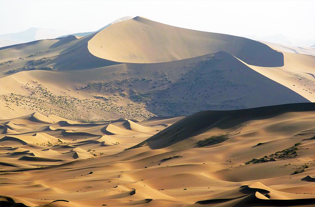 Dunes at the Badain Jaran Desert